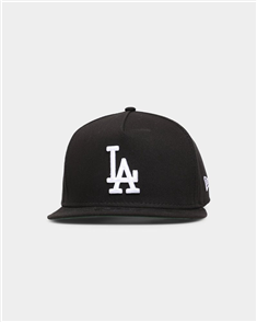 NewEra LOS ANGELES DODGERS 9FIFTY A-FRAME CAP, BLACK