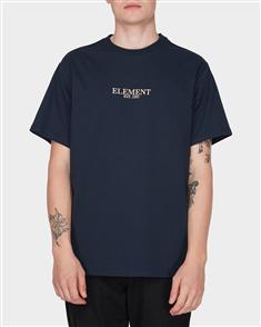 Element Georges Short Sleeve Tee, Dark Indigo