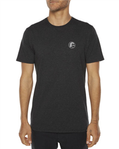 Oneill Circle Surfer Tee, Charcoal Marle