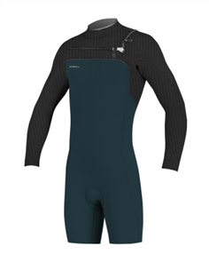 Oneill HYPERFREAK FUZE 2MM Long Sleeve SPRING Suit, Slate Black