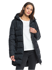 Roxy WOMENS SOUTHERN NIGHTS PUFFER JACKET, BLACK