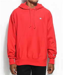 Champion REVERSE WEAVE PULLOVER HOOD, TEAM RED