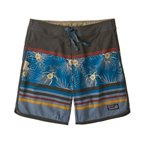 "Patagonia Men's ScallopHem Stretch Boardshort 18"", Bayou"
