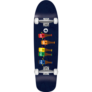 Enjoi Beer Run Skate Longboard Premium Cruiser, Black