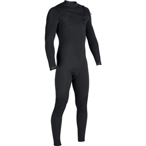 Vissla Seven Seas 4/3mm Full Chest Zip Steamer, Stealth