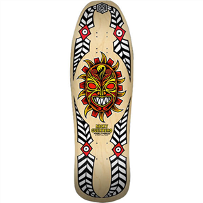 Powell Peralta Nicky Guerrero Mask Deck, Natural