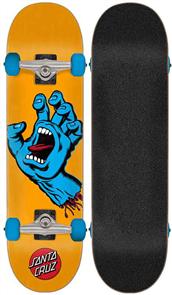 """Santa Cruz Screaming Hand Mid Skate Complete, 7.8"""""""