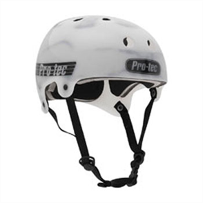 Protec Old School (Certified) Wake Helmet, Gloss White