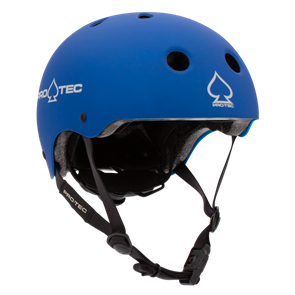 Protec Jr Classic Fit Certified Helmet, Metallic Blue