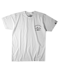 Salty Crew Admiral Tee, White