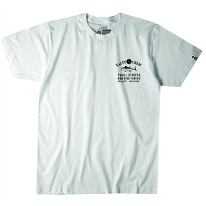 Salty Crew Markets Short Sleeve Tee, White
