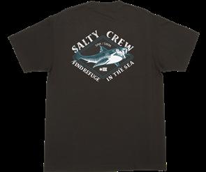 Salty Crew DEADEYE S/S TEE, BLACK