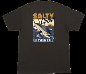 Salty Crew FLYER STANDARD S/S TEE, BLACK