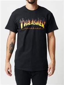 Thrasher BBQ Short Sleeve Tee, Black