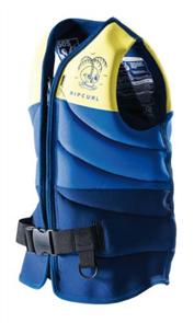 Rip Curl Boys D/Patrol Buoyancy Vest, 0010 Yellow