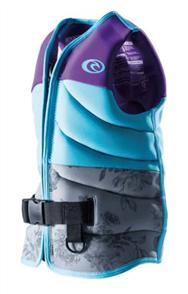 Rip Curl Girls D/Patrol Buoyancy Vest, 0037 Purple