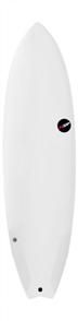 NSP Protech Epoxy Fish Surfboard, White