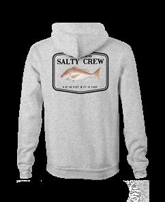 Salty Crew Snapper Mount Fleece, Athletic Heather
