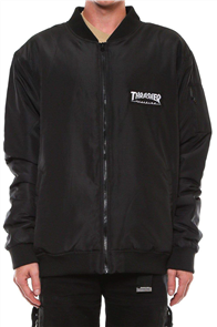 Thrasher Bomber Jacket, Black