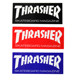 Thrasher Skate Mag Super Sticker