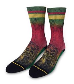 Merge4 Rasta Lion  Mens Socks