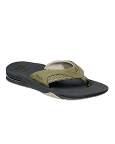 Reef Fanning Mens Jandal, DEO Olive