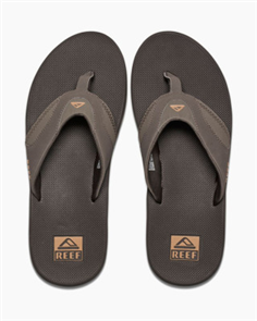 Reef Fanning Mens Jandal, BGM Brown