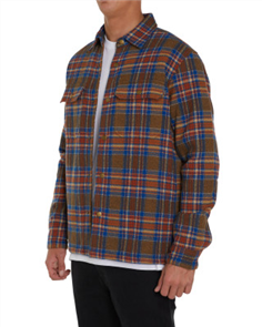 Oneill FLANDERS SHIRT JACKET, ARMY