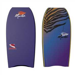 Manta Sonic Bodyboard, Purple Blue