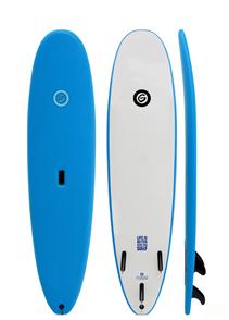 Gnaraloo Beach Cruiser Surfboard, Blue