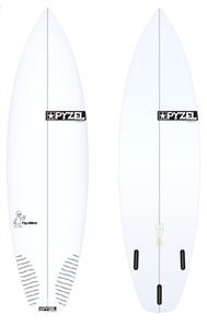 Pyzel Pyzalien Board with Thruster Future Fins