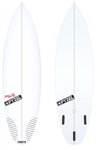 Pyzel JJF Slab 2.0 Board with Thruster Future Fins