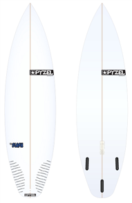 Pyzel Flash Board with Thruster Future Fins