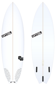 Pyzel Nugget Board with Thruster Future Fins