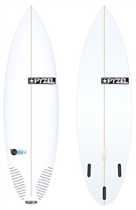 Pyzel Bastard Board with Thruster Future Fins