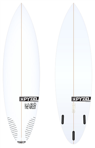 Pyzel Ghost Board with Thruster Future Fins