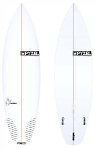 Pyzel Pyzalien Board with Thruster FCS II Fins