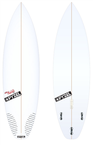 Pyzel JJF Slab 2.0 Board with Thruster FCS II Fins