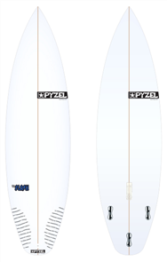 Pyzel Flash Board with Thruster FCS II Fins