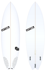 Pyzel Nugget Board with Thruster FCS II Fins