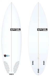 Pyzel Bastard Board with Thruster FCS II Fins