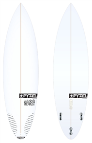 Pyzel Ghost Board with Thruster FCS II Fins
