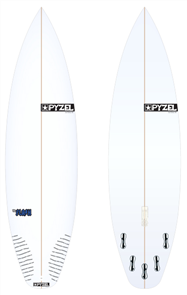 Pyzel Flash Board with 5 FCS II Fins