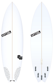 Pyzel Nugget Board with 5 FCS II Fins
