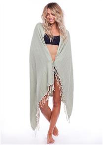 Rhythm Beach Towel, Palm
