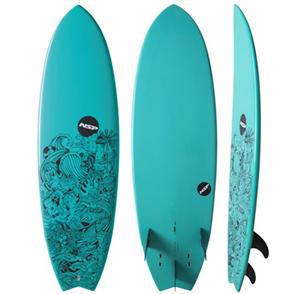 NSP 2017 06 Elements HDT Epoxy Fish Surfboard, Shredsta
