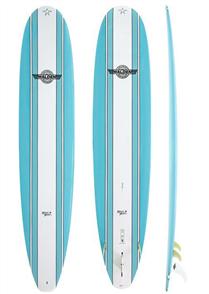 Walden Magic Model X2 Longboard, Light Blue