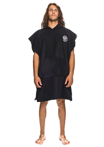 Santa Cruz Original Dot Hooded Towel, Black