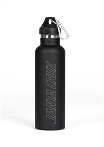 Santa Cruz Original Dot Drink Bottle, Black