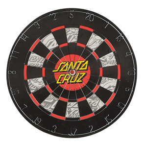 Santa Cruz Sc Dot Dart Board, Black